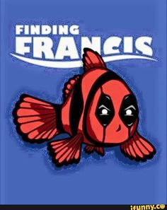 So this is hilarious! Finding Nemo and Deadpool! deadpool, funny, finding, francis