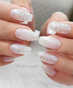 Most Beautiful Nail Designs to Inspire You – Trendy and pretty nails Neutral Nail Designs, Neutral Nail Color, White Nail Designs, Nail Designs Spring, Beautiful Nail Designs, Cool Nail Designs, Shellac Nail Colors, Gel Nail, Nail Polish