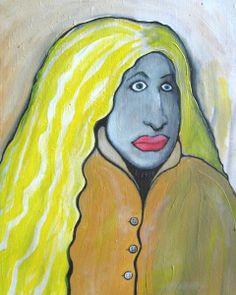 Bewildered Teenager by MushroomBrain CategoriesdeviantART Shop > Traditional Art > Paintings > Portraits