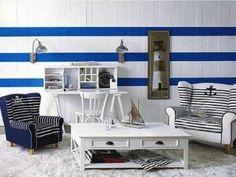 Arredare casa in stile marinaro - Cameretta stile marinaro ...