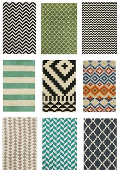 rug (african patterns) inspired