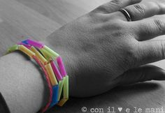 collane e braccialetti con le cannucce Mamma, Fitbit Flex, Birthday, Party, Birthdays, Dirt Bike Birthday, Birth Day