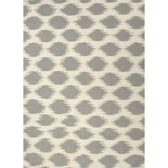 Jaipur Rugs FlatWeave Tribal Pattern Ivory/Gray Wool Area Rug MR40 (Rectangle)