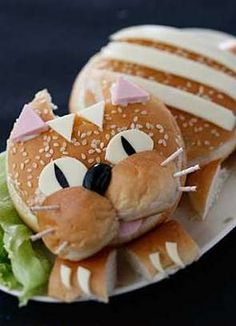 Cat Burger #gladinspiredlunches