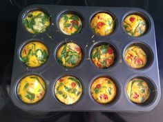 Cupcake Omelettes