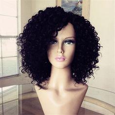 63.24$ Watch here - http://alim45.worldwells.pw/go.php?t=32381754445 - brazilian virgin curly human hair bob wig unprocessed short human hair wigs for black women cheap glueless full lace wigs 63.24$