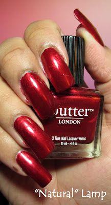 My Simple Little Pleasures: NOTD: Butter London Knees Up