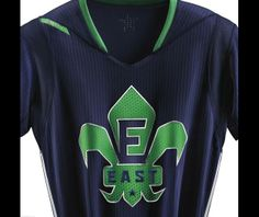 Este tipo de camisetas que la NBA quiere poner de moda este año no me convencen. 2014 NBA All-Star Uniforms