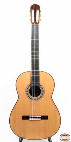 """Of all the guitars in the Master Series, the Rodriguez is the most powerful across all registers. Notably """"Spanish"""" in sound, the tone is warm, lush, and round, with bouncing basses and fat, singing trebles. It offers an instant responsiveness and a big, explosive attack at the beginning of every note. This guitar is handmade in the USA. Big, powerful sound with instant response. Materials:Cordoba's Rodriguez is built with a solid Canadian cedar top and solid Indian rosewood back and sides…"""