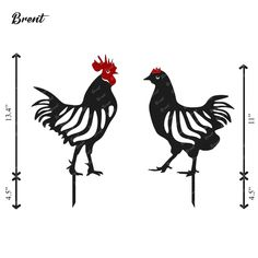 Black Chickens, Chickens And Roosters, Metal Chicken, Chicken Art, Garden Animals, Farm Animals, Metal Fabrication Tools, Chicken Garden, Laser Art