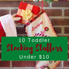 10 Toddler Stocking Stuffers For Under Xmas GiftsUnique