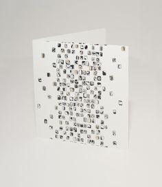 Black Mosaic card. A Signature Collection design.
