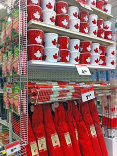 Last Trending Get all images canada decor stores Viral caian All About Canada, Canadian Tire, Canada Day, Tis The Season, Christmas Stockings, Red And White, True North, Seasons, Holiday Decor