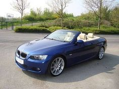 BMW 3 series convertible. ok, since I am dreaming...............