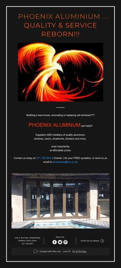 Phoenix Aluminium EST2011  Quality & Service Reborn!!!