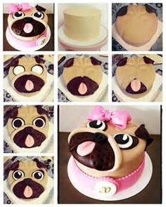 Pug Cake Design On Ukpinterest - Yahoo Image Search Results