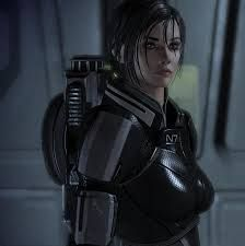 Shepard (female version), from the Mass Effect video game series. Love this game!