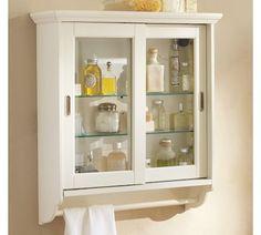 Sliding Door Wall Cabinet | Pottery Barn