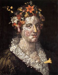 Flora – Giuseppe Arcimboldo – Oil Painting Reproductions and Prints from Canvas Replicas Giuseppe Arcimboldo, Art Perle, Renaissance Artists, Italian Painters, Italian Artist, Art Moderne, Arte Floral, Fine Art, Art Plastique