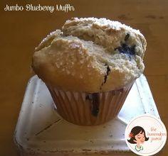 Jumbo Blueberry Muffins - The Homemakers Journal