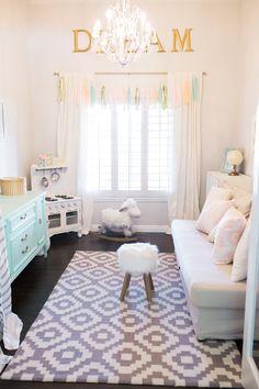 Kids Playroom Design , nursery design pastel mint gender neutral girl playroom