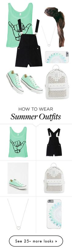 """""""BLUEEEEEEE"""" by dawnima on Polyvore featuring Converse, MCM, Tiffany & Co., women's clothing, women, female, woman, misses and juniors"""