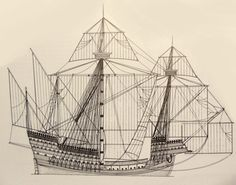 The Santa Caterina do Monte Sanai, 1520 - The most heavily armed vessel of the Portuguese navy