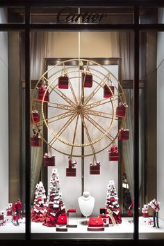 The Best Christmas Windows in NYC - Holiday Window Displays to Visit in New York 2019 Bakery Window Display, Christmas Window Display Retail, Christmas Window Decorations, Store Window Displays, Holiday Decor, Christmas Windows, Retail Displays, Christmas Shop Displays, Boutique Window Displays