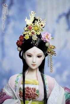 媝娫采集到娃娃系列 Bjd, Crown, Beauty, Jewelry, Fashion, Moda, Corona, Jewlery, Jewerly