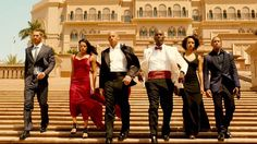 Diary of an Angry Film Nerd: 'Furious 7' Film Review: Off Into the Sunset