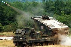 German M270 MLRS
