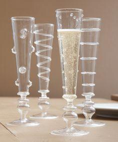 Verre Champagne Flute - Set of 4