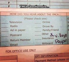 How did you hear about the YMCA?