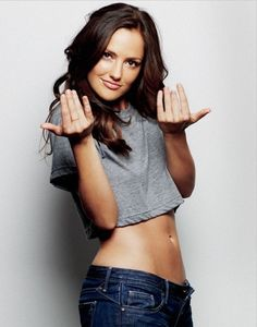 You want a piece of me? Yep'. (Minka Kelly, former Aerosmith guitarist Rick Dufay's daughter, and, Esquire Magazine's 2010 'Sexiest Woman Alive'.