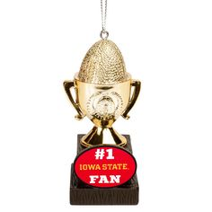 Iowa State Cyclones Trophy Ornament - $7.99