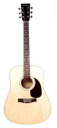 Full Size Dreadnought NATURAL Acoustic Guitar with Free Carrying Bag and Accessories  DirectlyCheapTM Translucent Blue Medium Guitar Pick 41ProPack -- Continue to the product at the image link.Note:It is affiliate link to Amazon. #picoftheday