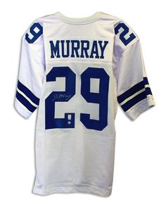 DeMarco Murray Dallas Cowboys Autographed White Jersey cf7ca801b