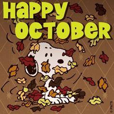 Snoopy October