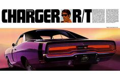 1970 Dodge Charger R/T Classic ad poster