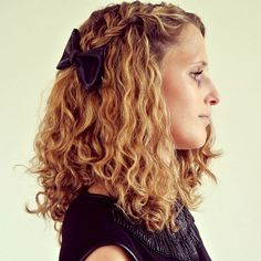 Curly hair routine/products for gorgeous type 3a curls.
