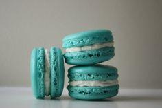 Tiffany Blue Coconut Buttercream French Macaron by LeBonbonLA, $21.00