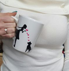 Hey, I found this really awesome Etsy listing at https://www.etsy.com/listing/494544426/i-love-my-dog-coffee-mug-dog-mom-coffee