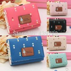 2014 Ladies Women Designer Small Purse Wallet Girls Coin Short Purse Handbag Bag-in Wallets from Luggage & Bags on Aliexpress.com | Alibaba Group