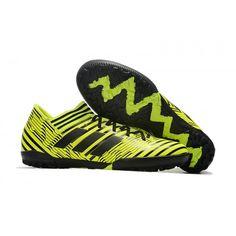 size 40 cf592 668fa 2017 Adidas Nemeziz Tango 17.3 TF Botas de futbol verde negro