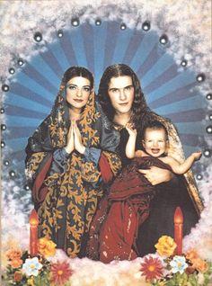 Pierre et Gilles nina hagen'family