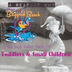 4 Reasons Blizzard Beach is the Best Water Park for Toddlers  #WDW #WaltDisneyWorld #WaterParks #TravelingWithKids #ToddlerActivities