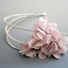 Diana Bridal Headband by Aubre's Bridal
