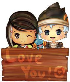 Japanese Carl and Ellie :)