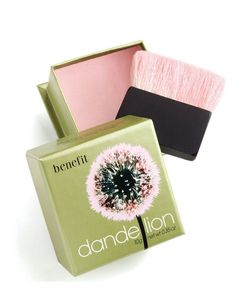 Benefit Dandelion blusher - great understated blush. Very handy that it comes with a wee brush and smells great too.