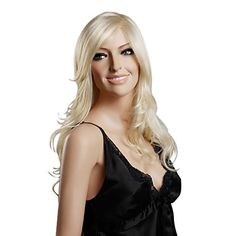 Capless Long Curly High Quality Synthetic Hair Wig – USD $ 39.99